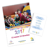 Amás,Group,presents,its,solidary,calendar,2017,with,the,participation,celebrities.,Veldis,has,collaborated,with,Parmalat,Hao,Chi,and,Gulden's,brands.